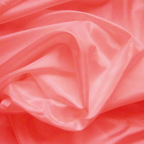 Polyester China Silk 36 Coral