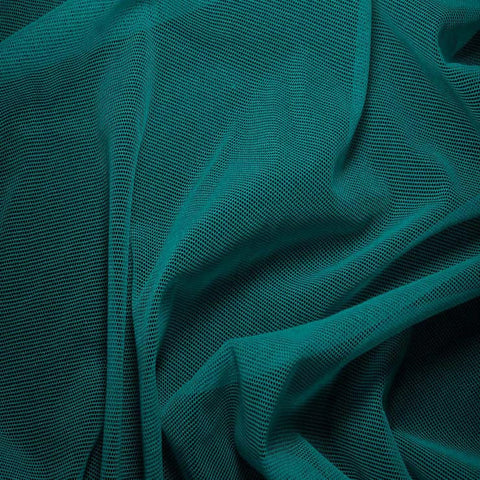 Nylon/Spandex Sheer Stretch Mesh 36 Turquoise