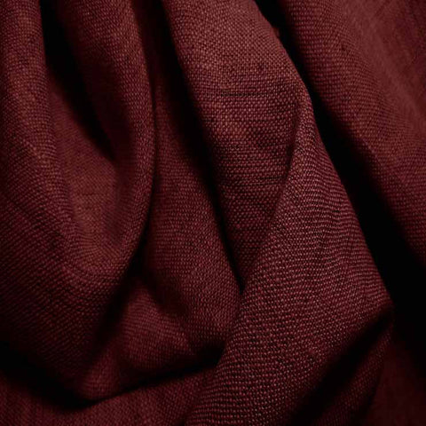 Medium Weight Linen - 6.5-oz 36 Wine - NY Fashion Center Fabrics