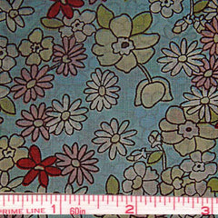 Pima Floral Print Cotton Lawn - 20 Yard Bolt 36