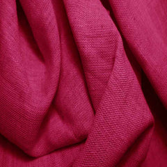 Medium Weight Linen - 6.5-oz 37 Fuchsia - NY Fashion Center Fabrics