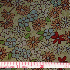 Pima Floral Print Cotton Lawn - 20 Yard Bolt 37