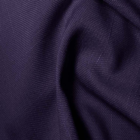 Polyester/Viscose Blend Linen Italiano 38 Purple