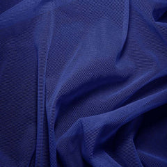 Nylon/Spandex Sheer Stretch Mesh 38 Royal
