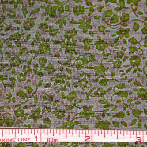 Pima Floral Print Cotton Lawn - 20 Yard Bolt 38
