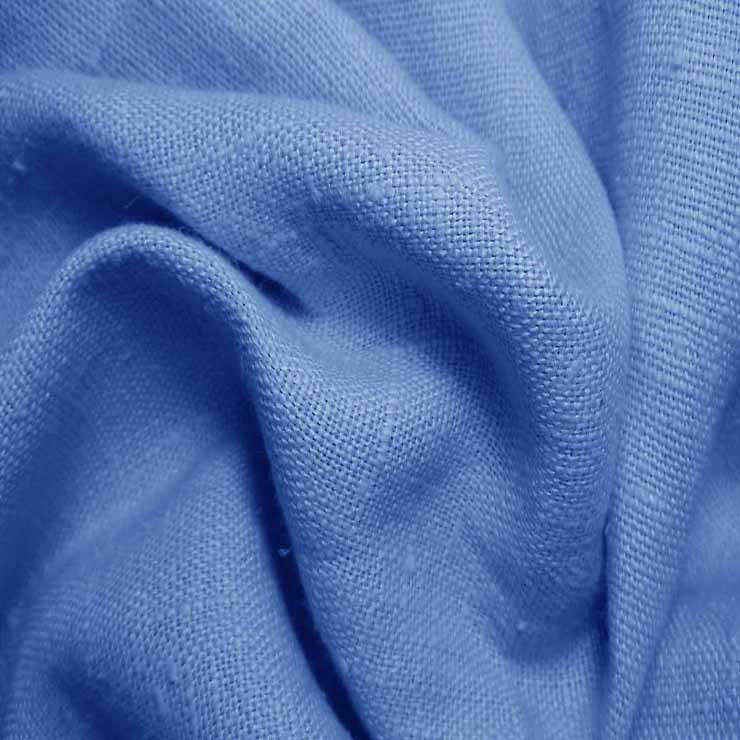 Heavyweight Linen 39 Royal Blue - NY Fashion Center Fabrics