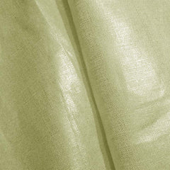 Metallic Linen 39 Silver on White Heavy - NY Fashion Center Fabrics