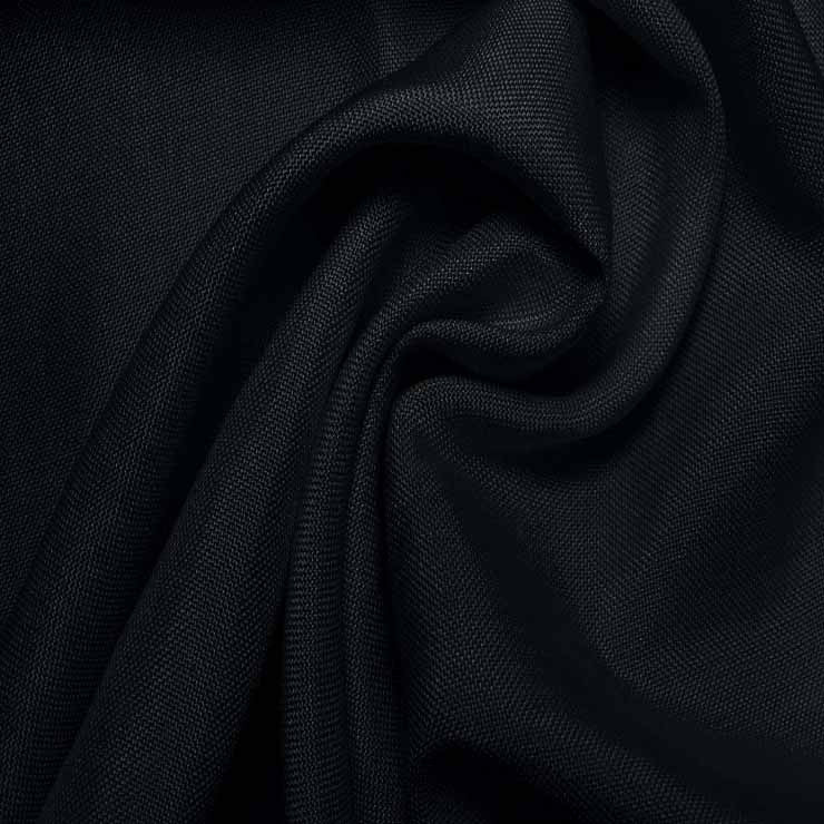 Super Fine Italian Douppioni Fabric 3942 Dark Navy
