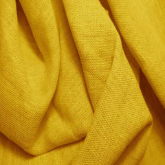 Medium Weight Linen - 6.5-oz 4 Sun Yellow - NY Fashion Center Fabrics