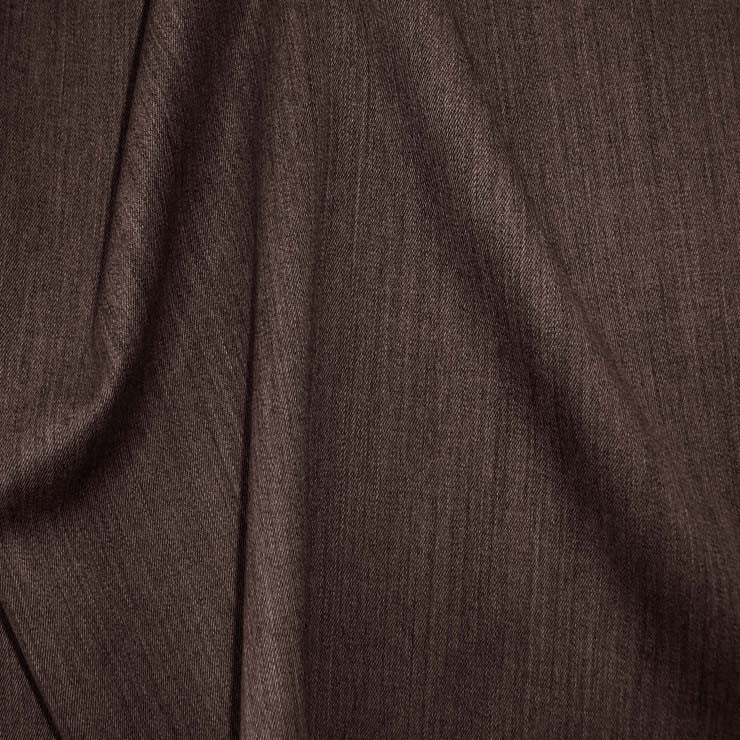 Superfine Wool Gabardine 40 EspressoHeather
