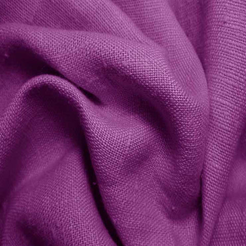 Heavyweight Linen 40 Purple - NY Fashion Center Fabrics