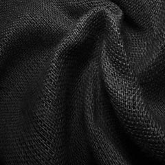 Sultana Burlap 16oz - 20 Yard Bolt 406520 Black