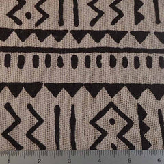 Island Batik Print Burlap - 20 Yard Bolt 409401 Gray - NY Fashion Center Fabrics