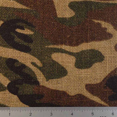 Camouflage Burlap - 20 Yard Bolt 409500 Woodlands Green