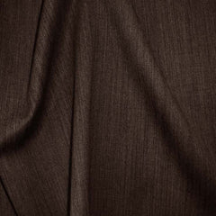 Superfine Wool Gabardine 41 DarkBrown