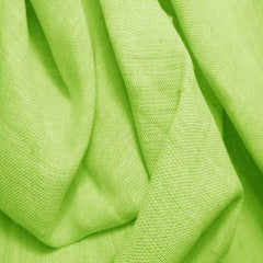 Medium Weight Linen - 6.5-oz 42 Chartreuse - NY Fashion Center Fabrics