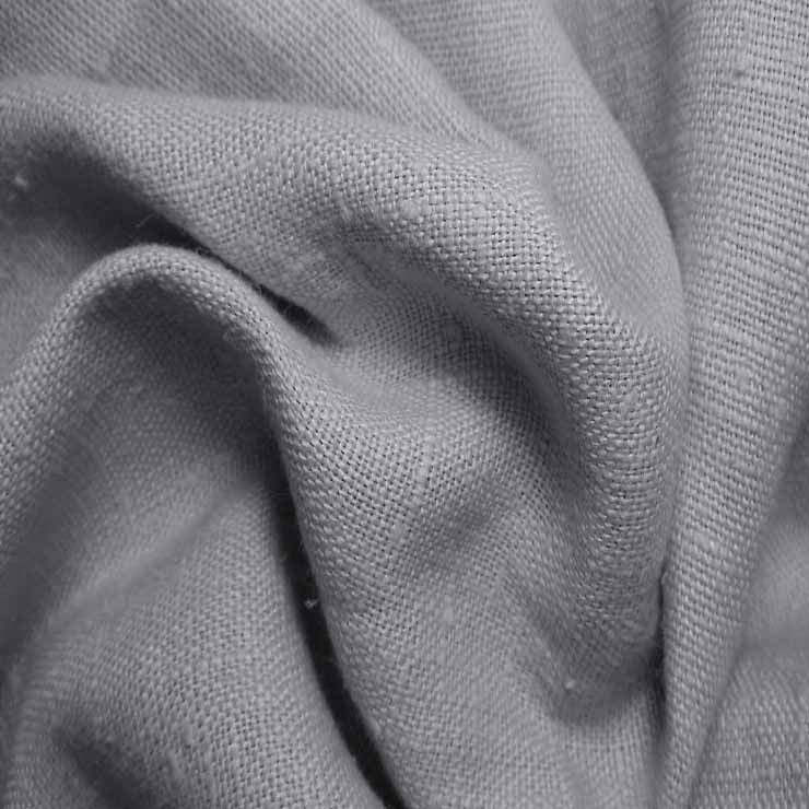 Heavyweight Linen 42 D Grey - NY Fashion Center Fabrics