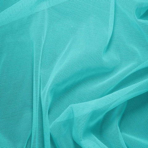 Nylon/Spandex Sheer Stretch Mesh 42 Seafoam