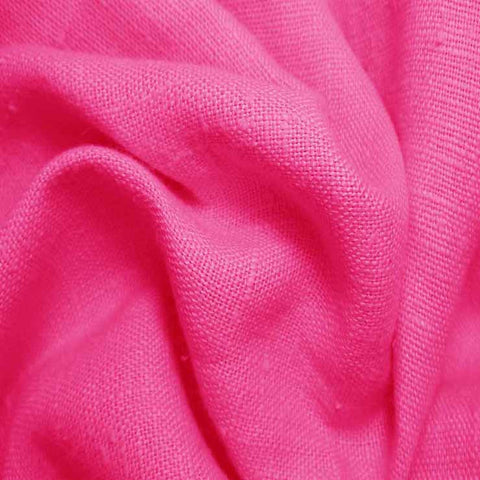 Heavyweight Linen 43 Fuchsia - NY Fashion Center Fabrics