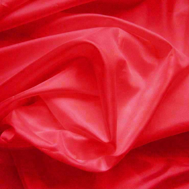 Polyester China Silk 43 Red