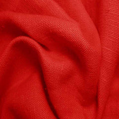 Heavyweight Linen 45 Red - NY Fashion Center Fabrics