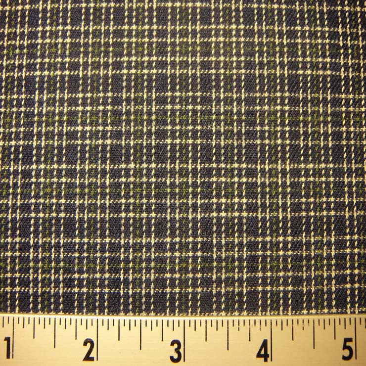 100% Cotton Fabric Checks #7 46 FLN8118N G - NY Fashion Center Fabrics
