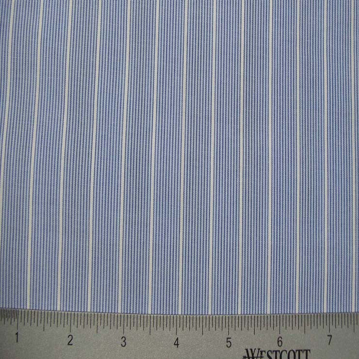 100% Cotton Fabric Stripes Collection #3 46 KO 3230 Y D1009BLU - NY Fashion Center Fabrics