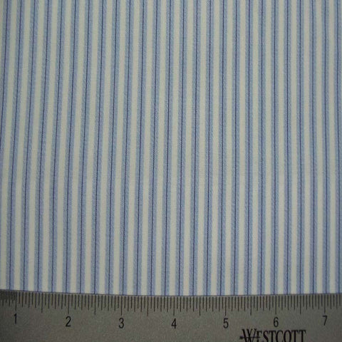 100% Cotton Fabric Stripes Collection #3 48 KO 3162 TWS0151BLU - NY Fashion Center Fabrics