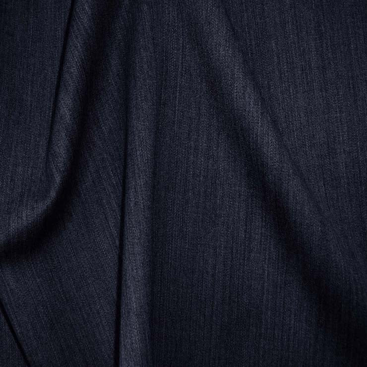 Superfine Wool Gabardine 48 Navy