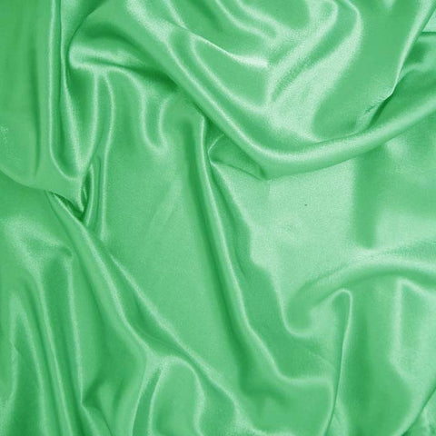 Polyester Crepe Back Satin 49 Apple Green