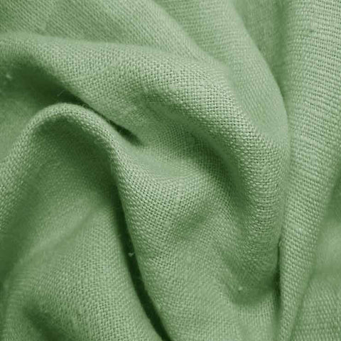 Heavyweight Linen 49 Spring Green - NY Fashion Center Fabrics