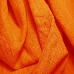 Medium Weight Linen - 6.5-oz 5 Orange - NY Fashion Center Fabrics