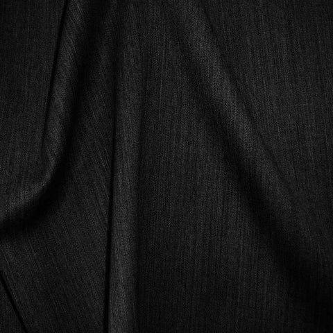Superfine Wool Gabardine 50 Black