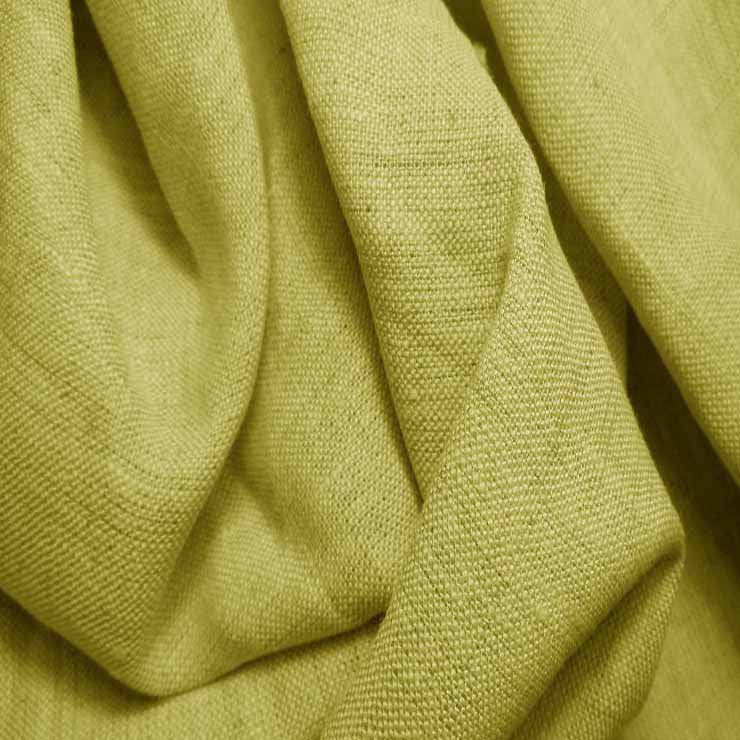 Medium Weight Linen - 6.5-oz 52 Celery - NY Fashion Center Fabrics