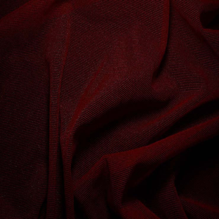 Nylon/Spandex Sheer Stretch Mesh 52 Merlot