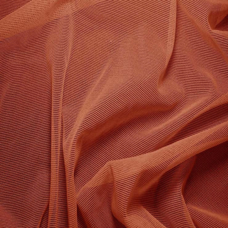 Nylon/Spandex Sheer Stretch Mesh 53 Copper