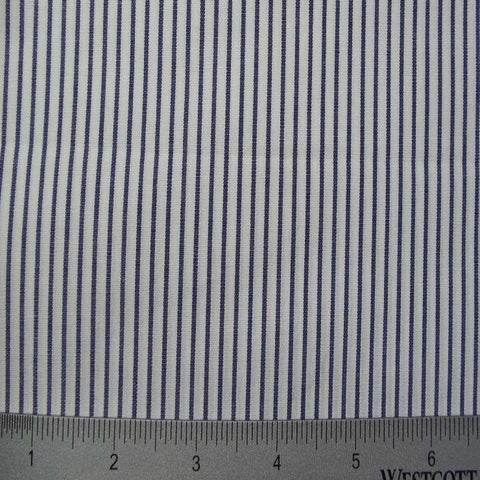 100% Cotton Fabric Stripes Collection #3 53 STR0624NVY