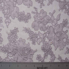 Alencon Lace #42 54 12060R 36 Lavender - NY Fashion Center Fabrics