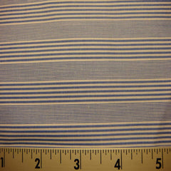 100% Cotton Fabric Stripes 54 Y D8331BLU - NY Fashion Center Fabrics