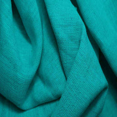 Medium Weight Linen - 6.5-oz 55 Green Turquoise - NY Fashion Center Fabrics