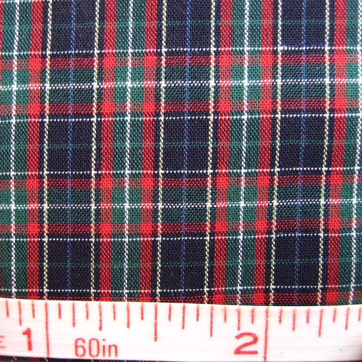 Pima Cotton Mini Tartans Fabric 20 Yard Bolt 5550