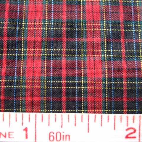 Pima Cotton Mini Tartans Fabric 20 Yard Bolt 5552