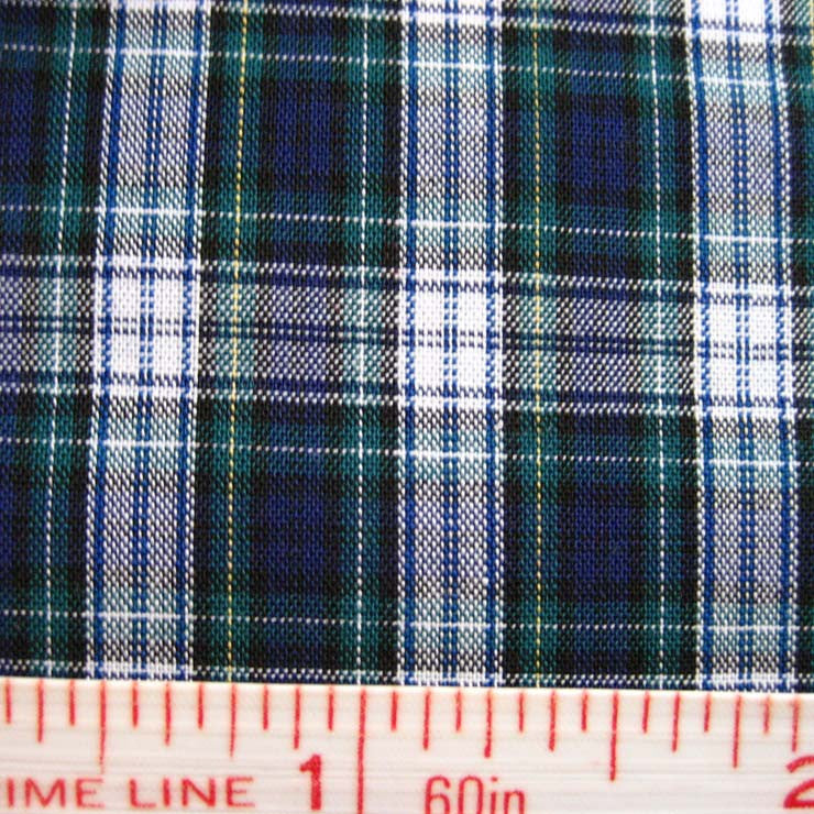 Pima Cotton Mini Tartans Fabric 20 Yard Bolt 5553