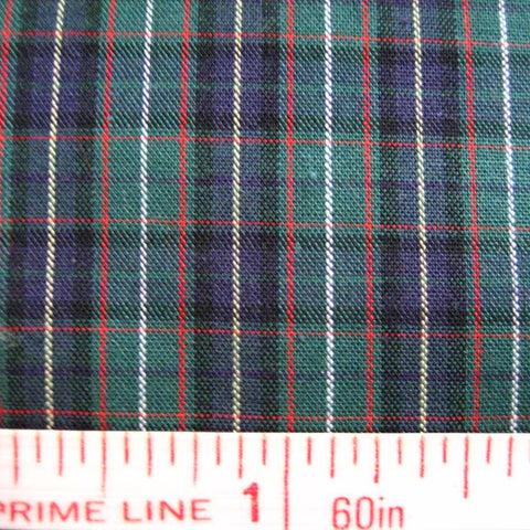 Pima Cotton Mini Tartans Fabric 20 Yard Bolt 5554