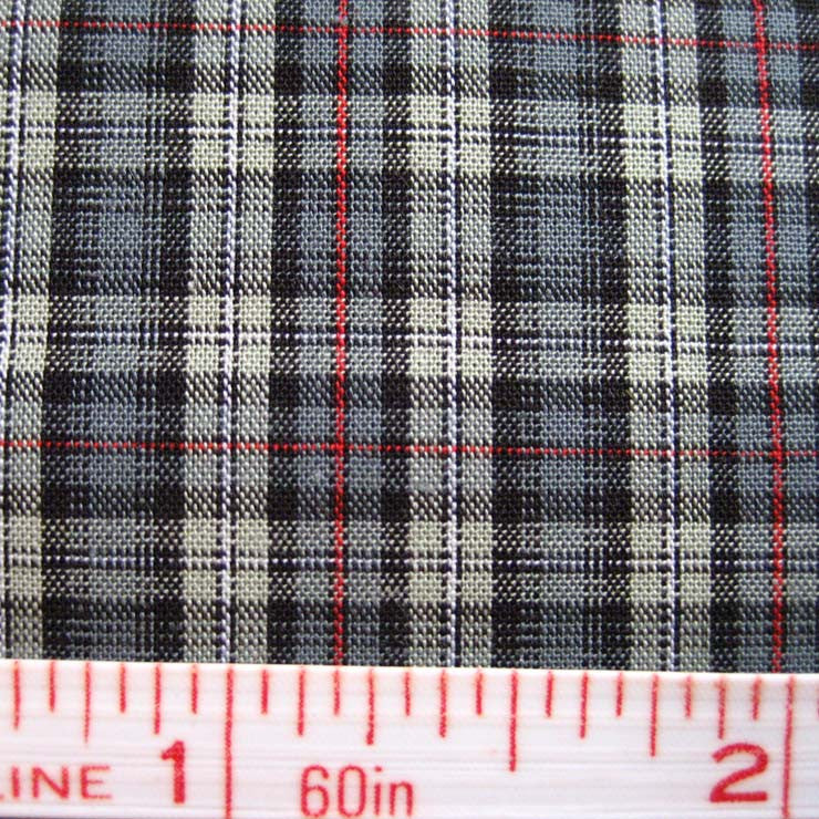 Pima Cotton Mini Tartans Fabric 20 Yard Bolt 5555