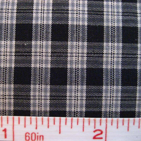 Pima Cotton Mini Tartans Fabric 20 Yard Bolt 5560