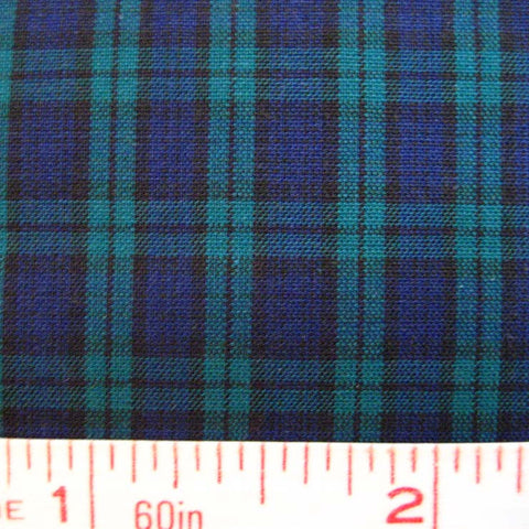 Pima Cotton Mini Tartans Fabric 20 Yard Bolt 5563