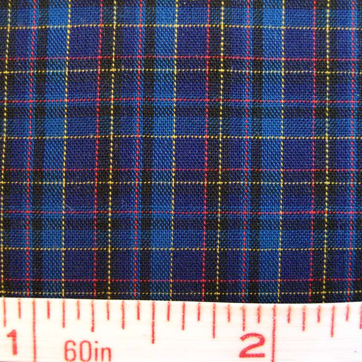 Pima Cotton Mini Tartans Fabric 20 Yard Bolt 5566