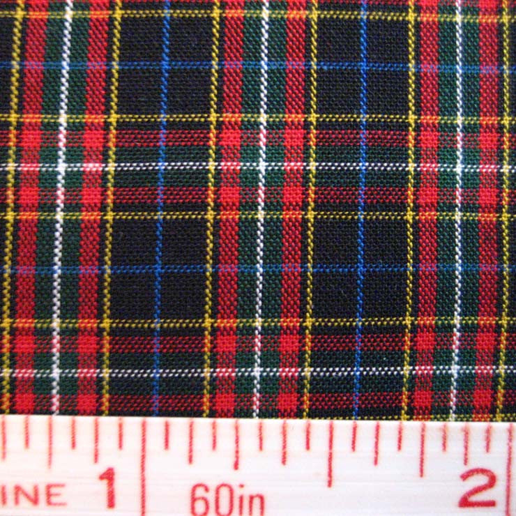 Pima Cotton Mini Tartans Fabric 20 Yard Bolt 5567