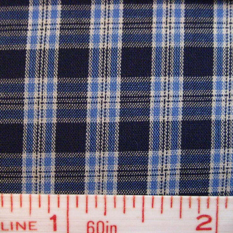 Pima Cotton Mini Tartans Fabric 20 Yard Bolt 5568